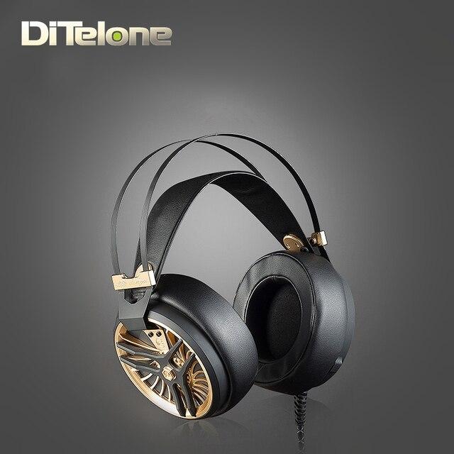 LIEDCHEN MARK III Auriculares HI-FI Monitor Diadema Ultra Bass Stereo 3.5mm aux para pc del juego de cvc cancelación nosie con MIC