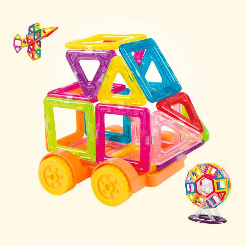 128pcs/184pcs/set Creative Magnetic toy Design Blocks Child intelligence educational magnetic toys stick favorite gift block toy