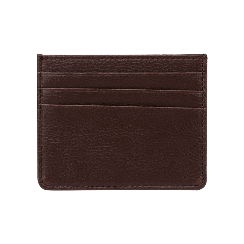 2017 Fashion Men Women Slim ID Card Business Holder PU Leather Bank Credit Card Bag Wallet Holder Small New Solid Unisex Wallets