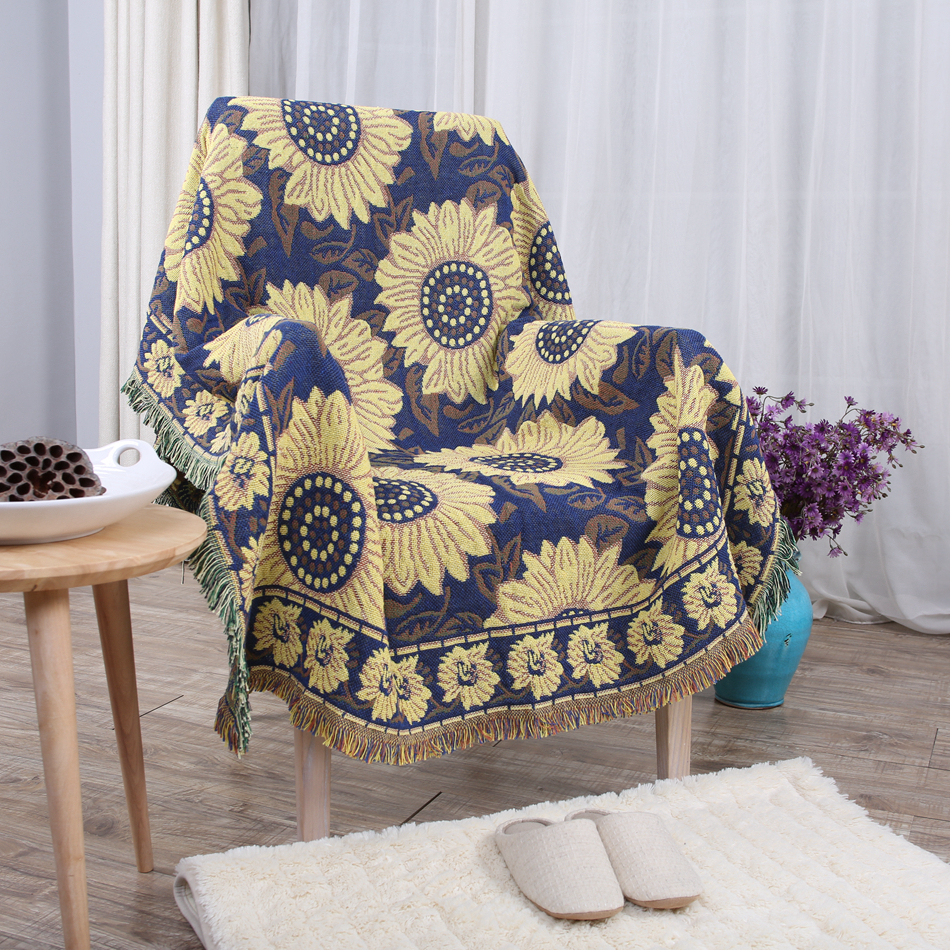 Cloth Sofa Covers Flower Patterns Cotton Cover For ...