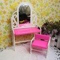 Девочка день рождения подарок мебель для 1/6 женское куклы дети играть игрушка необычные буфет комплект куклы кросс-одевания стол + стул
