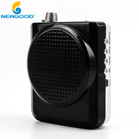Professional Multifunctional Voice Amplifier Speakers With Micro TF Card U Flash Drive Audio Music Playing FM