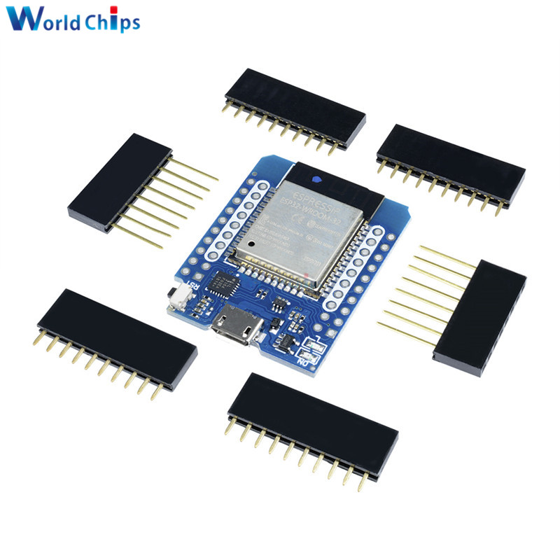 1 Set For Wemos MINI D1 ESP32 WiFi + Bluetooth For Wemos D1 Mini Esp8266 Module With Pins New Arrival In Stock