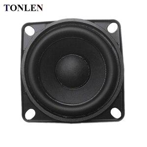 Image 1 - TONLEN 1 pièces 2 pouces gamme complète haut parleur 8 ohms 10 W bricolage HIFI haut parleurs sans fil bluetooth haut parleur en caoutchouc bord audio haut parleurs de musique
