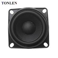Tonlen 1 Pcs 2 Inch Full Range Speaker 8 Ohm 10 W Diy Hifi Luidsprekers Draadloze Bluetooth Speaker Rubber Rand audio Muziek Speakers