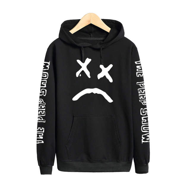 d37ac3d416d32 Vsenfo Lil Peep Sweatshirt Men Women Hell Boy The Peep Show Hoodies Long  Sleeve Pullovers Hip Hop Sweatshirts Street Style -in Hoodies & Sweatshirts  from ...