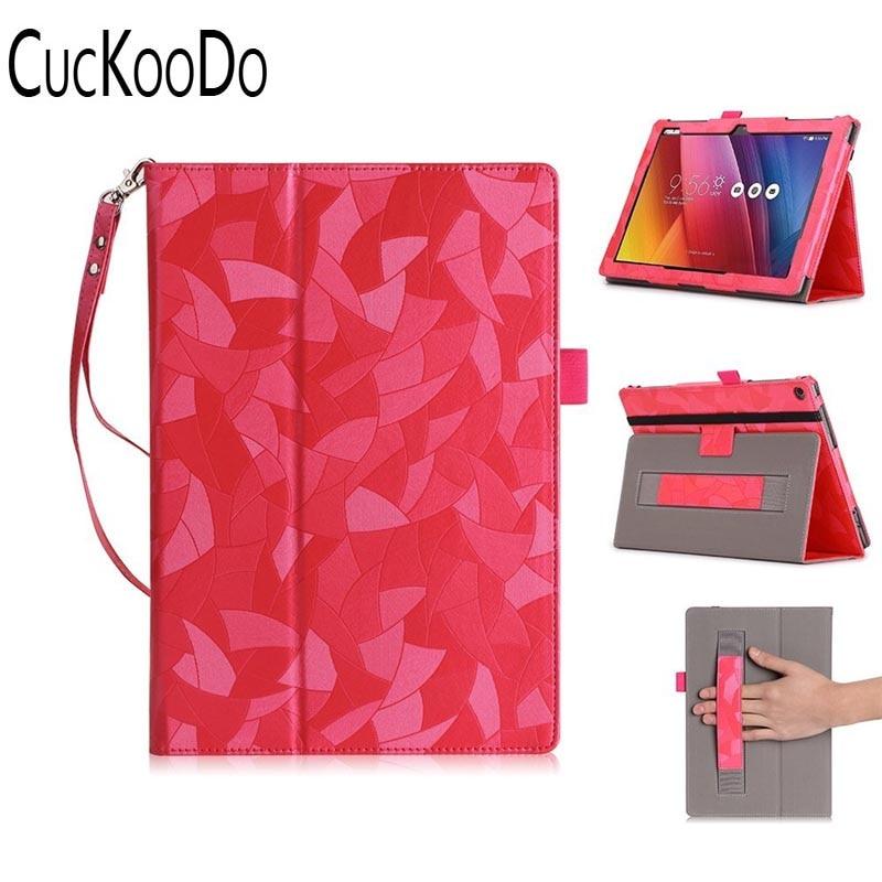 CucKooDo Premium PU Leather Case Protective Stand Cover For ASUS Zenpad 10 Z300C Z300M Z301M Z301ML Z301MF 10.1