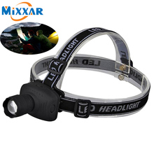 ZK20 Cree Q5 LED Headlamp Headlight Frontal Flashlight Head Lamp Torch Head Lamp Outdoor Sports Camping Fishing
