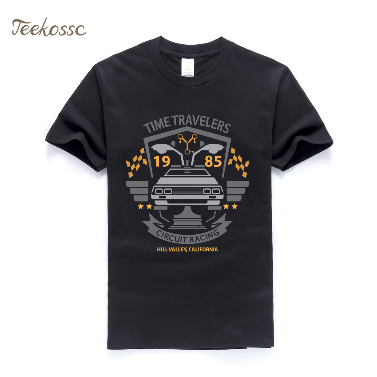 Back to the Future   T     Shirt   Men Classic Movie Series   T     Shirts   Mens 2018 New Summer   T     Shirts   Camiseta Casual   T  -  Shirt   Tops Tee XXXL