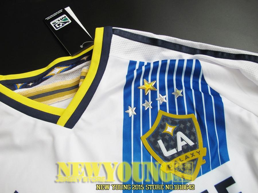 2016 LA Galaxy Soccer jersey 15 16 Major League Soccer LA Galaxy 5 star  HOME player version AWAY BLUE football shirt GERRARD-in Soccer Jerseys from  Sports ... 7aed8c41a