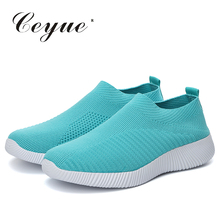 Women Casual Shoes Walking Shoes zapatillas mujer Female Comfortable Sports Shoes Mesh Breathable Sneakers tenis masculino цена