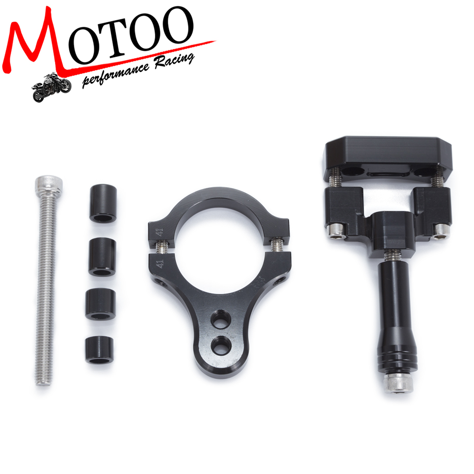 For Yamaha R3 2014 2015 2016 2017 Motorcycles Adjustable Steering Stabilize Damper Bracket Mount Support Kit Accessories yamaha dbr15