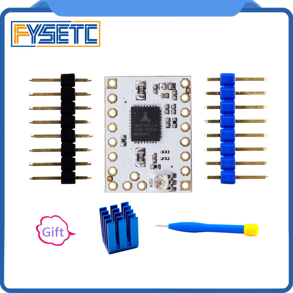 5pcs TMC2130 V1 0/2130 New /TMC V1 1 Three Kinds Stepstick Stepper Motor  Driver SPI With Heat Sink Ultra-silent Excellent