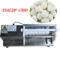 YSACDP-1300 high efficiency egg processing machine household manual quail egg peeling machine hulling machine