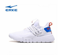 Erke Men's Running Shoes 2019 New Lightweight, Wear resistant, Slip proof, Comfortable and Air permeable Sports Running Shoes