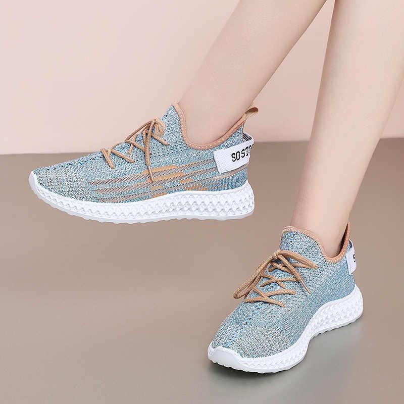 Кроссовки женские 2019 легкая беговая Обувь для женщин Air Sole дышащая женская спортивная обувь высокого качества