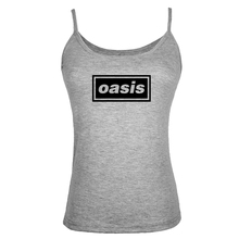 Summer Style Oasis Definitely Maybe Women Tank Tops Shirt Bodybuilding Fitness Vest singlet Clothes