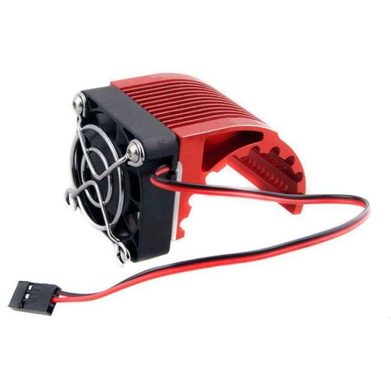 40*40mm disipador de calor Fin DC 5V ventilador refrigeración para Hobbywing Leopard RC Motor sin escobillas 42mm 1515 de 812 T8 K80 K82