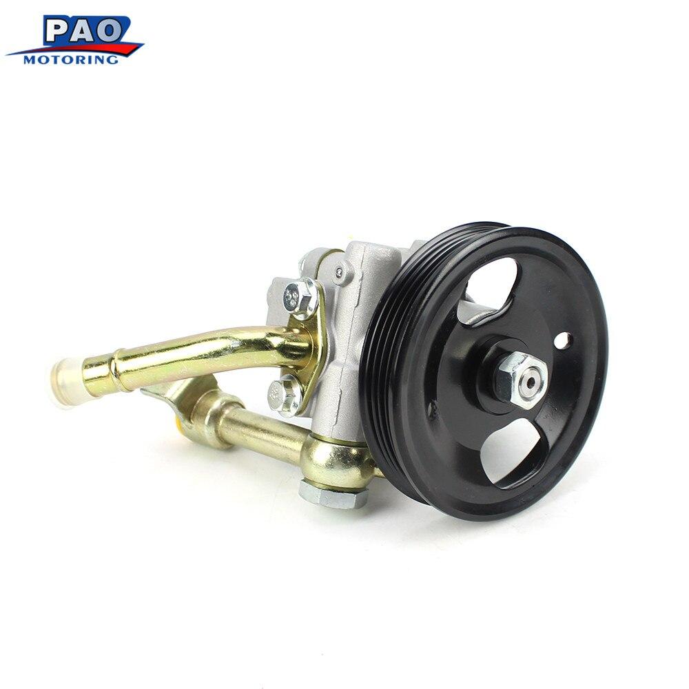 New Power Steering Pump Fit For Nissan Navara PATHFINDER D40 YD25 2005-2015 OEM 49110-EB700 Booster Clutch Brake Servo цены