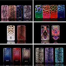 "NEW ! Luxury Puro Just Cavallis Leopard / Snake Print TPU Case Silicon Cover for Apple iphone 6 6S case 4.7"" phone capa celular"