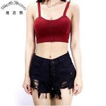Wei JiXiong 2017 New Summer Female Blusas Feminino Skinny Tank Top Fashion Camisole High Elastic Plus Size Crop Short Tops