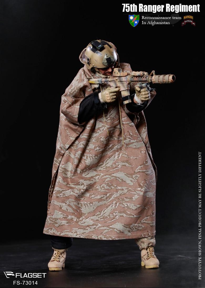1911 Pistol Set 75th Ranger Afghanistan 1//6 Scale Flagset Action Figures