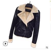 Letters Rivet Leather Jacket Women Punk Moto Coat Black Faux Jacket jaquetas couro Casaco chaquetas Belt Jacket 2019