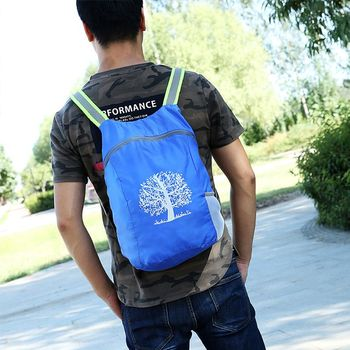 15L trwałe składane torby wspinaczkowe lekki plecak turystyczny plecak turystyczny tanie i dobre opinie THINKTHENDO NYLON CN (pochodzenie) wytłoczone Unisex Miękka osłona 36-55 litrów Otwór na wyjście miękki uchwyt Plecaki