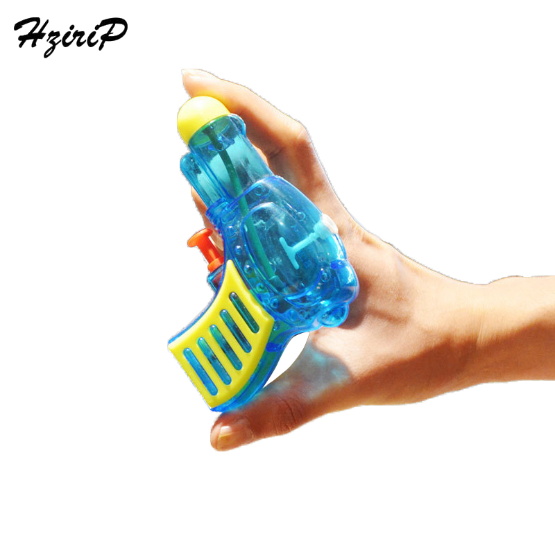 Hzirip 2PCS Mini Transparent Solid Color Summer Water Gun Toys Outdoor Boys Girls Game Playing Tool Action Water Gun Pistol Toys