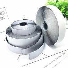 20/25/30/40mm*2M Black White Magic Tap Self Adhesive Hook Loop Fastener Nylon Sticker Disks Tape Sewing with Glue