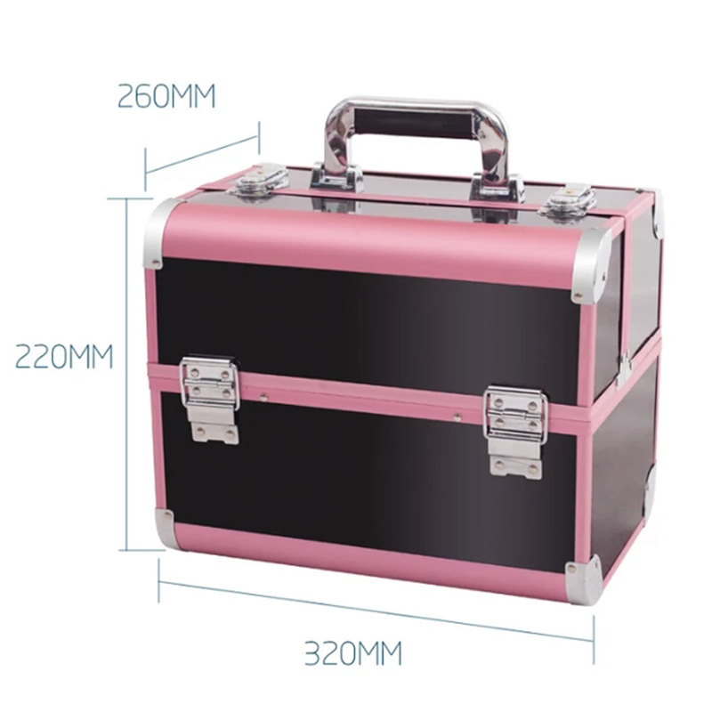 New Arrival Large Make Up Organizer Storage Box,Cosmetic Organizer Suitcase,Women Makeup Box Container Travel Cosmetic Bag Cases new arrival large make up organizer storage box cosmetic organizer suitcase women makeup box container travel cosmetic bag cases