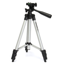 Portable Professional Aluminum FT-810 Telescopic Tripod Stand Holder For Digital Camera SLR DV Flexible With Carry Bag Silver