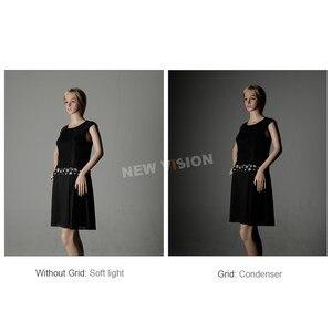 """Image 5 - Godox 50x130cm / 20""""* 51"""" Beehive Honeycomb Grid Strip Softbox Bowens Mount for Studio Flash DE300 DE400 SK300 SK400 DP600 QT600"""