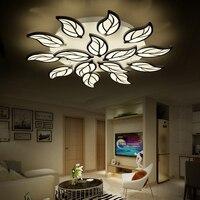 Лист акриловый светодиодный потолочный светильник современный светильник Гостиная Спальня Plafon домашний светодиодный потолочный светильн