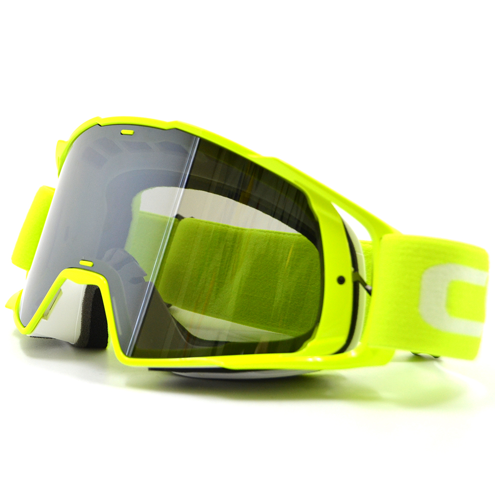 BJGLOBAL Motocross Skiing Snow Goggle Motorcycle Adult Flexible Goggles Airsoft Glasses Sport Eyeglasses Spectacles Eyewear