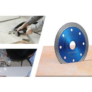 Image 2 - Lame de scie à diamant Style vague, 105/115/125mm, pour le carrelage, la porcelaine et la céramique, disque agressif de coupe à sec, le marbre, la pierre, le granit