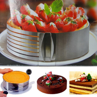 2016 new arrivals baking tools Scalable layered filter cake without knife