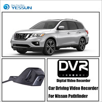 YESSUN Front Camera Dash Car DVR Digital Video Recorder for Nissan Pathfinder HD 1080P Not Reverse Parking Camera
