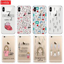 Silicone Cover Phone Case For Iphone