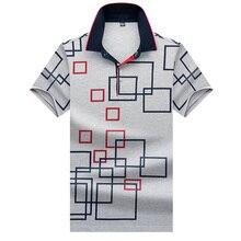 High Quality Tops&ampTees Mens Polo shirts Business men brands Shirts 3 Turn-down collar mens polo shirt 8310