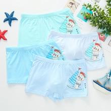 5pcs/lot Baby boy underwear cartoon cotton childrens boxer boys boxers shorts 2-12 Year