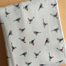 Width 150CM Abrasion-Resistant Cotton Linen Animal Printed Fabric Patchwork Textile Cloth Manual Sewing Blanket