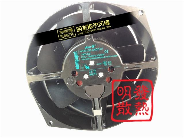 Nueva original 230 V W2S130-AA03-01 150*55 full metal ventilador de flujo axial