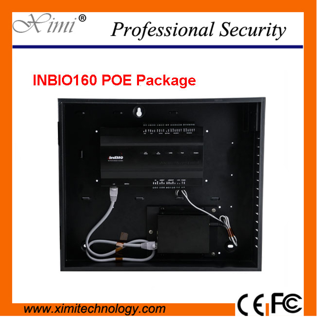 Biometric door access control board ZK new arrival inbio160 figerprint access control panel TCP/IP POE box access control board