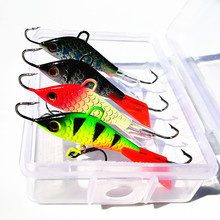 KKWEZVA 4pcs/lot 52mm 7.3g Jig for Fishing Lure winter Ice Fishing Hard Bait Minnow Pesca Tackle Isca Artificial Bait Crankbait