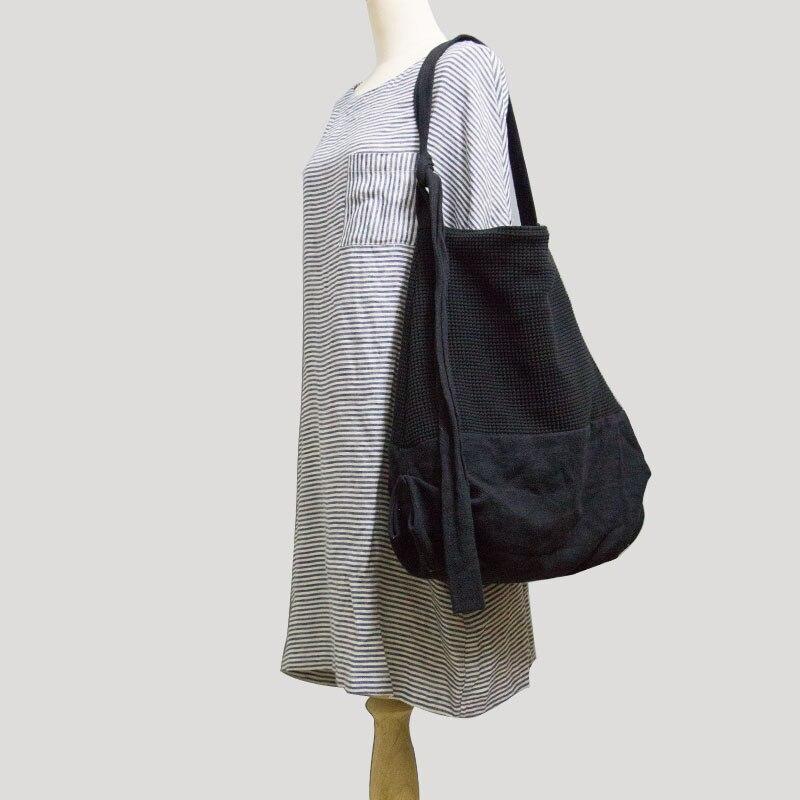 2019 women s handmade handbag one shoulder shoulder bag casual big cloth ladies canvas cross body