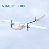 MyFlyDream MFD Nimbus 1800mm Long Range Dual hair fixed wing UAV RC FPV Plane Almost Ready to Fly Only