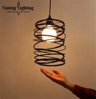 Artistic personality single head minimalist modern design lamp shade restaurant bar shop Nordic Pendant light lamp Lighting