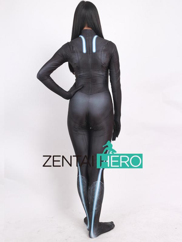 ZentaiHero 2017 Black Widow Costume 3D Printed Female Superhero Costume Newest Game Cosplay Costume Zentai Catsuit For Halloween (5)