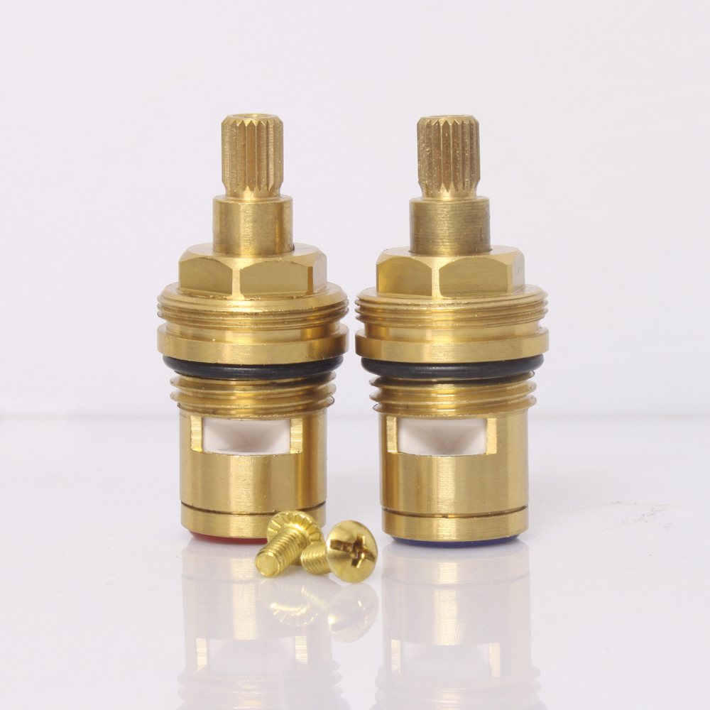 Ceramic Tap Valve/Cartridge 1/2 Hot Replacement 20 SplineCeramic Tap Valve/Cartridge 1/2 Hot Replacement 20 Spline